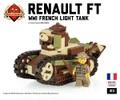 フランス軍ルノー FT-17軽戦車【Battlefield1迷彩仕様】