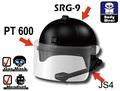 SRG-9A3ライオットヘルメット