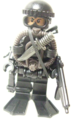 米軍フロッグマン:水中工作員