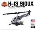 "H-13 Sioux ""M.U.S.H"" ヘリコプター"