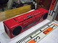 松下電器産業株式会社。National RX-F3。ステレオ・ラジオ/カセットレコーダー。