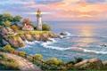 【4‐12】A3 灯台 風景