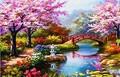 【4-3】桜と美しい庭 庭園