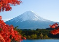 T4-91 A3square 絶景秋の富士山