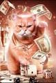 【1-8】金運招き猫(golden)