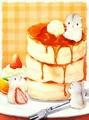 【7-6】B4square ホットケーキのアート ダイヤモンドアート
