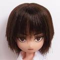 [からすねこ] オビツ11 こげ茶髪三白眼少年