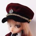 [からすねこ] ミリタリー帽子エンジ