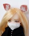 [からすねこ] 11ヘッド用マスク