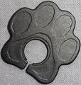 ストラップ・ホールド 内径9.5mmタイプ(肉球・PPB黒)