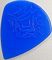 SCALE CHIP ジャズ型Lサイズ R015-3 taper shape (ジュラコン・青)