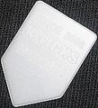 ホームベース型 HB-TYPE(6ナイロン・白)