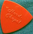 トライアングル Nylon Vintage - HARD SHAPE(テスト・サンプル/オレンジ~赤)