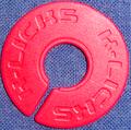 ストラップ・ホールド 内径9.5mmタイプ(ドーナツ・PPB赤)