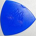 SCALE CHIP トライアングル R015-3 taper shape (ジュラコン・青)