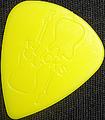 1枚55円! Guitar Sculpture S&T 011(ジュラコン・黄)
