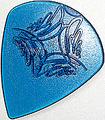 12枚を1セットで1000円!SCALE CHIP ジャズ型Lサイズ R015-3 taper shape (ジュラコン・青)