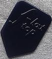 12枚を1セットで1000円!マンドリン・ピック F-TOP HB (6ナイロン・紺)