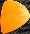 12枚を1セットで1000円!Guitar Sculpture L・ストラト(ジュラコン・オレンジ)