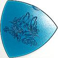 12枚を1セットで1000円!SCALE CHIP トライアングル R015-3 taper shape (ピーシーリム・クリアLPB)