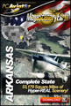 DVD-R MegaSceneryEarth 2.0 Arkansas(FSX)