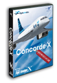 Concorde X (FSX) コンコルド