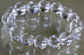 超活性!キラキラ透明水晶ブレスレット12mm玉【高品質・超透明・光沢】