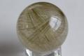 【50%オフ!】激レア!高品質ブラジル産ルチルクォーツ丸玉【高品質・透明・光沢・激レア】