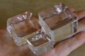 天然石丸玉用のクリスタルガラス台座(Lサイズ)