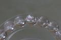 ナチュラルレインボー!高品質ヒマラヤ水晶ブレスレット8mm玉【高品質・透明・光沢・レインボー・激レア】