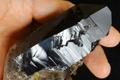 超光沢!アフリカ産天然スモーキークォーツ原石【最高品質・超透明・超光沢・レインボー・超激レア】