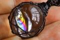 最高品質!レインボー水晶ペンダント82【最高品質・超透明・光沢・レインボー・激レア】