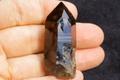 超光沢!アフリカ産天然スモーキークォーツ原石【最高品質・超透明・超光沢・ファントム・超激レア】
