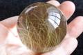【50%オフ!】極上!超透明ゴールドルチルクォーツ丸玉【最高品質・超透明・超光沢・激レア】
