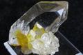 極上!超透明ガネーシュヒマール水晶ゴールデンヒーラー【最高品質・超透明・超光沢・DT・超激レア】