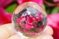 極上!完全透明!最高品質マニカラン水晶40mm丸玉【最高品質・超透明・超光沢・超激レア】