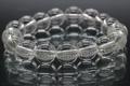 極上!山梨県産・光の水晶ブレスレット11mm玉【最高品質・高波動・超透明・超光沢・超激レア】