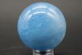 爽やかブルー!高品質マダガスカル産アクアマリン36mm丸玉【高品質・光沢・透明・超激レア】