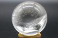 超激レア!高波動ウラル産レムリアンレインボー水晶46mm丸玉【最高品質・高波動・透明・光沢・レインボー・超激レア】