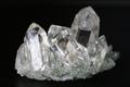 極上究極!超透明インドマニハール産水晶クラスター75.2g【最高品質・超透明・超光沢・レインボー・超激レア】