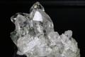 極上キラキラ!超透明インドマニハール産水晶クラスター176.8g【最高品質・超透明・超光沢・超激レア】