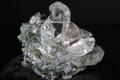 極上キラキラ!超透明インドマニハール産水晶クラスター57.5g【最高品質・超透明・超光沢・超激レア】