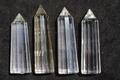 最強浄化!極上超透明12面カットヒマラヤ水晶4本セット62【最高品質・超透明・超光沢・超激レア】