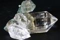 極上!秘蔵品!超透明インドマニハール産水晶クラスター57.6g【最高品質・超透明・超光沢・DT・レインボー・超激レア】