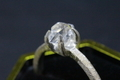 【40%オフ!】高品質ハーキマーダイヤモンド・リング【高品質・透明・光沢・激レア】