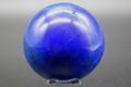 【40%オフ!】極上濃厚ブルー!アフガニスタン産ラピスラズリ59mm丸玉【高品質・光沢・激レア】