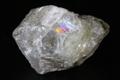 ギラギラレインボー!超高波動ロシア産フェナカイト原石7.7g【最高品質・透明・光沢・レインボー・超激レア】