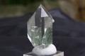 極上!インド・マニハール産水晶122【最高品質・透明・光沢・クローライト・レインボー・激レア】
