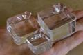 天然石丸玉用のクリスタルガラス台座(Mサイズ)