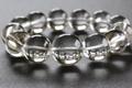 極上超大玉21mm!ガネーシュヒマール水晶【ブレスレット最高品質・超透明・超光沢・レインボー・超激レア】